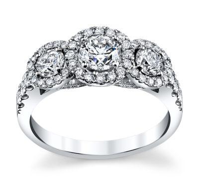 3 stone ring in arkansas