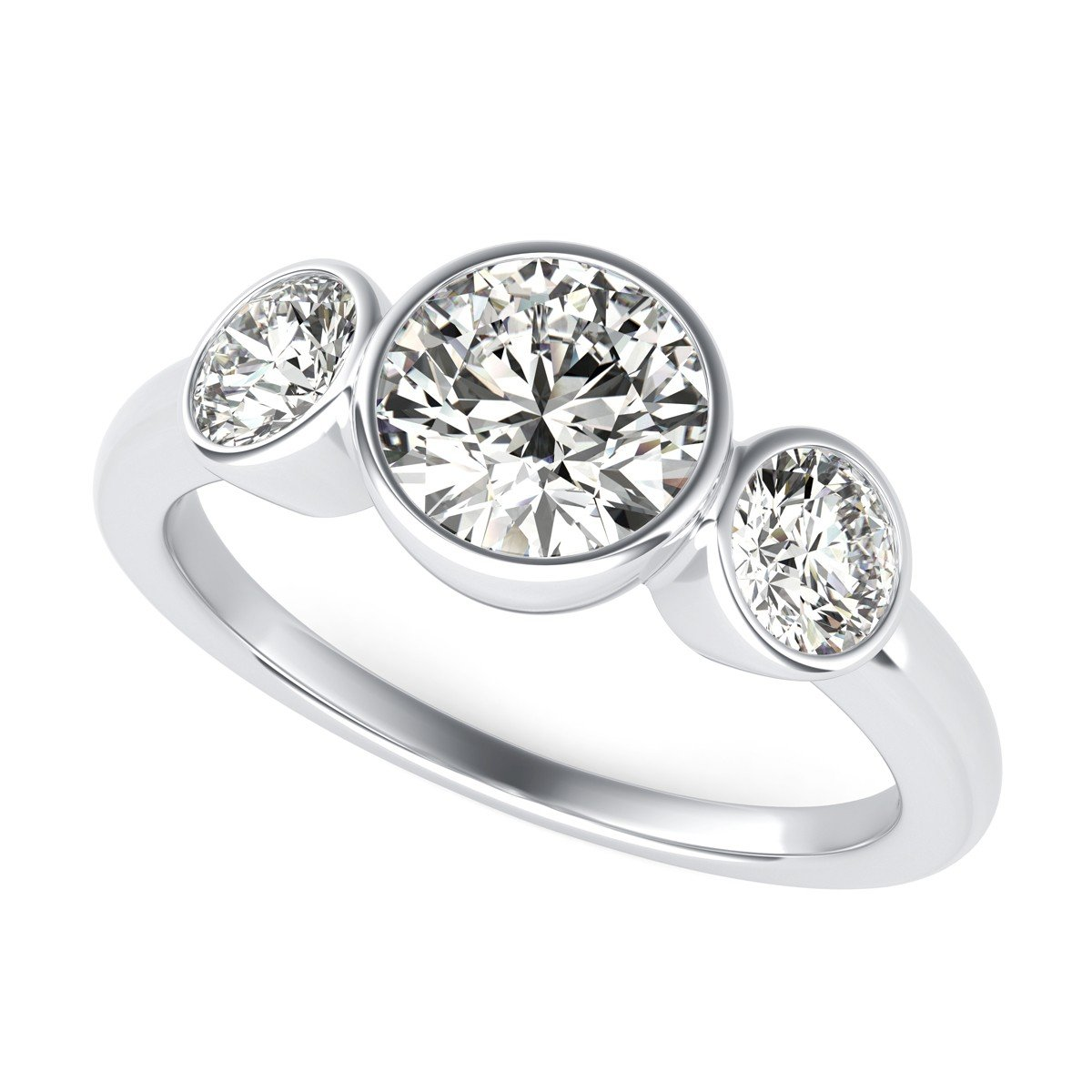 bands main gallery under weddings diamond sylvie engagement dollars rings three ring glamour