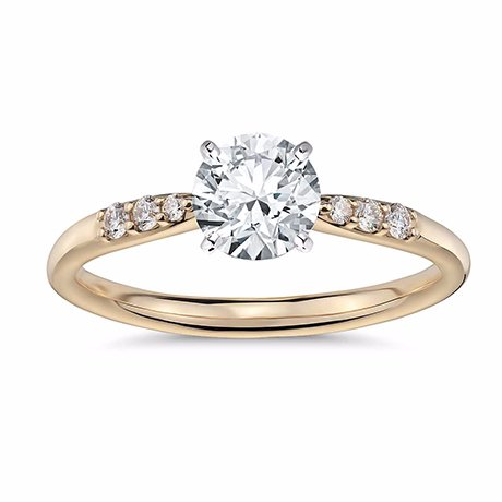 engagement rings in yellow gold in ar