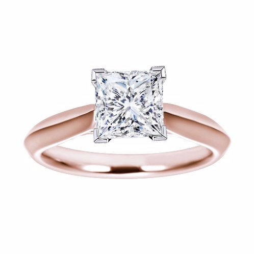 rose gold engagement rings in little rock, ar