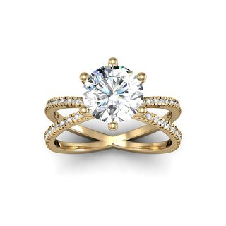 yellow gold engagement rings in ar