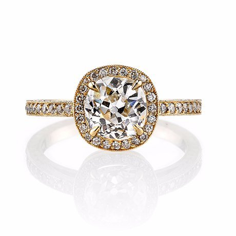 yellow gold engagement rings little rock