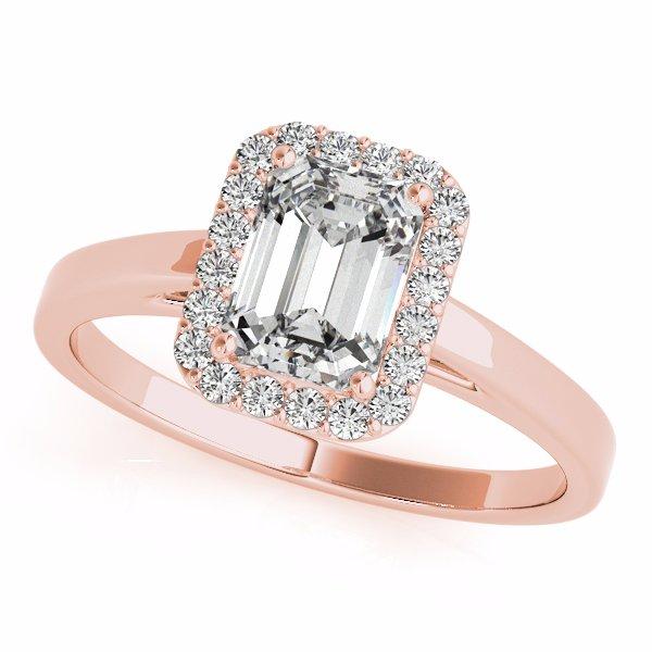 rose gold engagement ring little rock