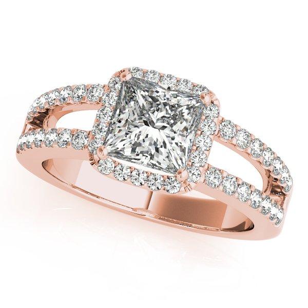 rose gold engagement rings arkansas