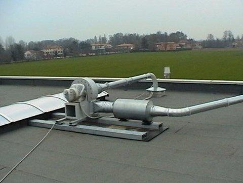 installazione impianto di aspirazione