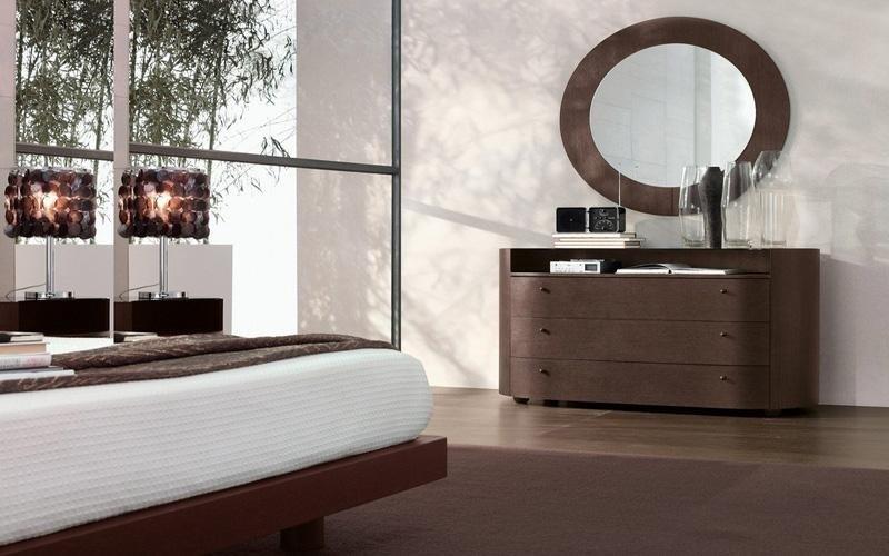 camera cassettone in legno