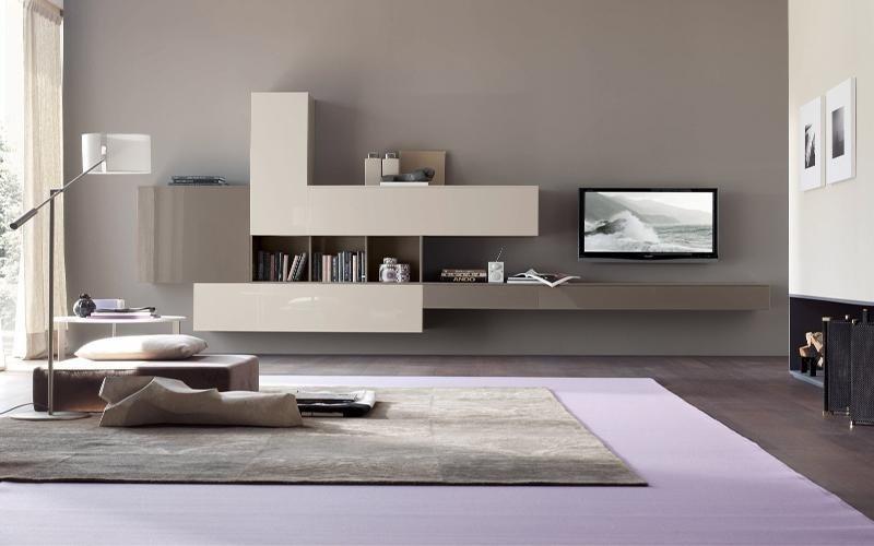 mobile soggiorno legno chiaro
