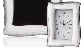 cornici argentate, argentatura, orologi in argento