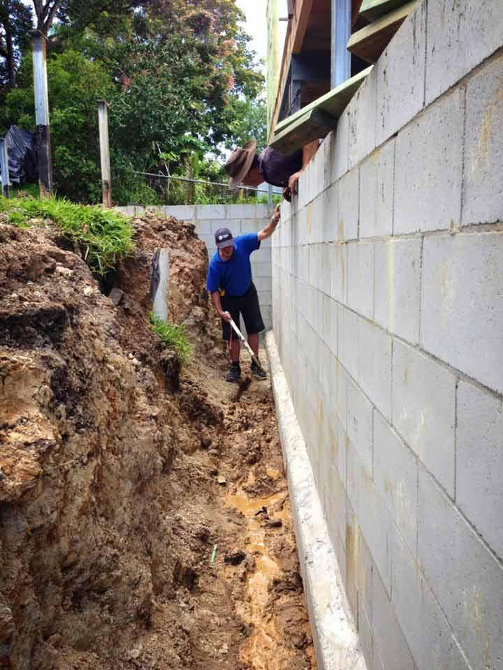 blakes waterproofing man doing work