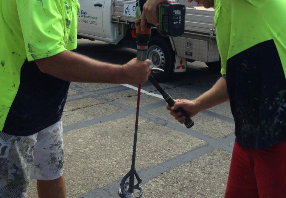 blakes waterproofing workers doing work