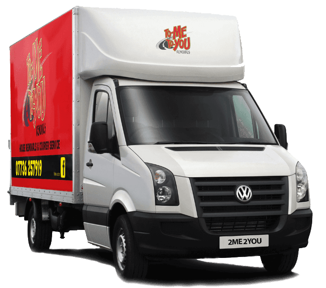 To Me To You Removals Van