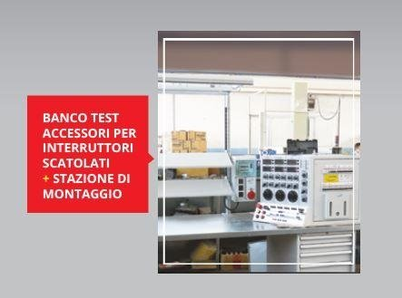 banco test accessori per interruttori scatolati + stazione