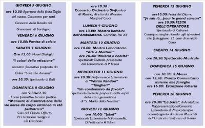 29a Festa incontro programma