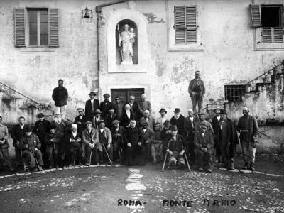 foto storica Monte Mario Roma