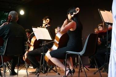 orchestra sinfonica Roma violini