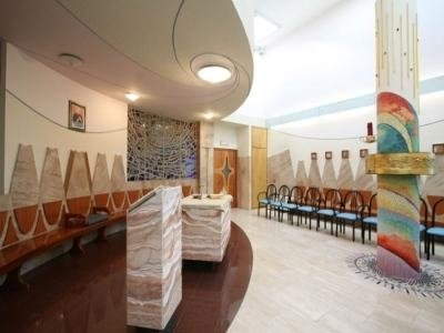 interno cappella residenza Betania