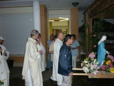 processione messa religiosi