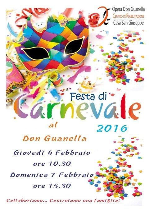 carnevale al Don Guanella