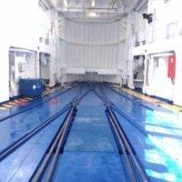 Armamento ferroviario nave Messina