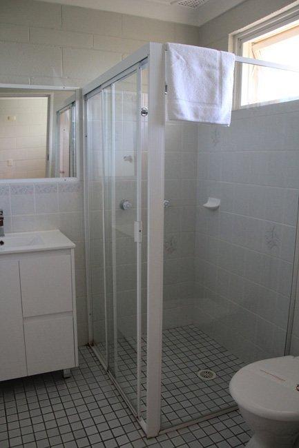 small family room bathroom