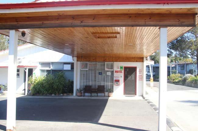 motel reception building