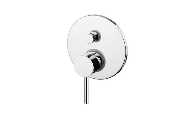 Miscelatore monocomando doccia incasso con deviatore tonod
