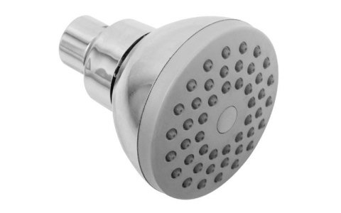 Luna-2 ABS shower head, single jet with anti-limescale feature