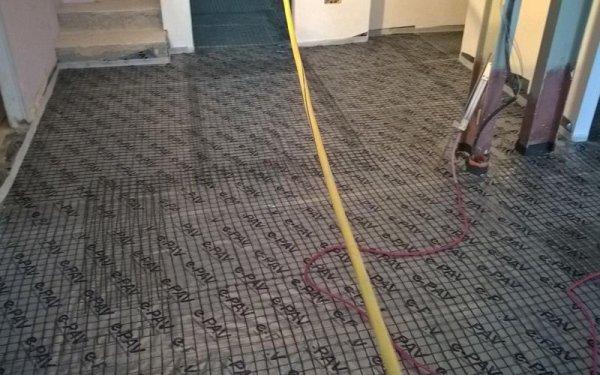 costruzione pavimenti