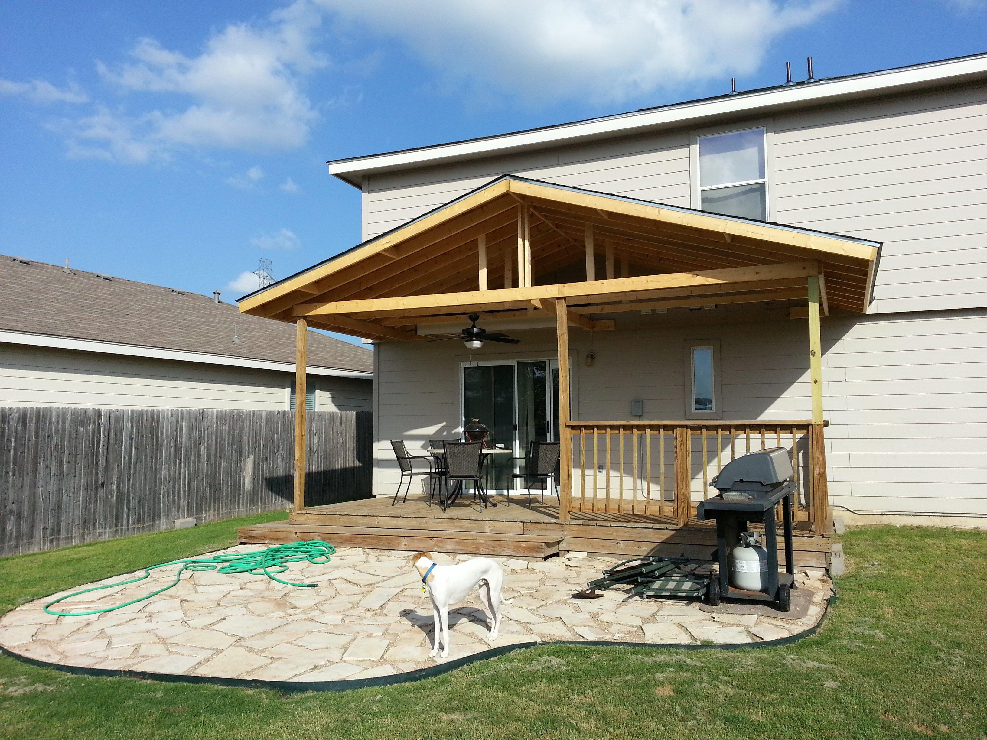 Custom Porch Building San Antonio, TX