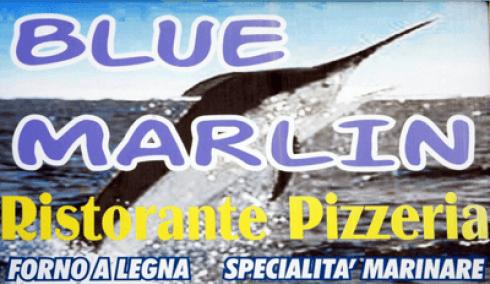 immagine con scritto Blue Marlin ristorante pizzeria