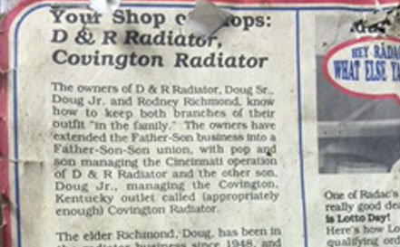 D & R Radiator Service and Covington Radiator Service