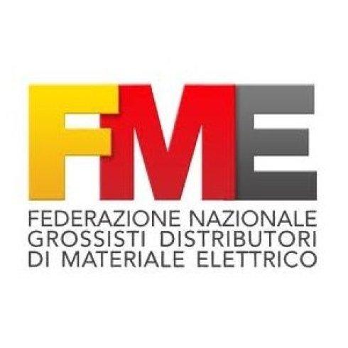 logo fme, articoli fme, materiale elettrico