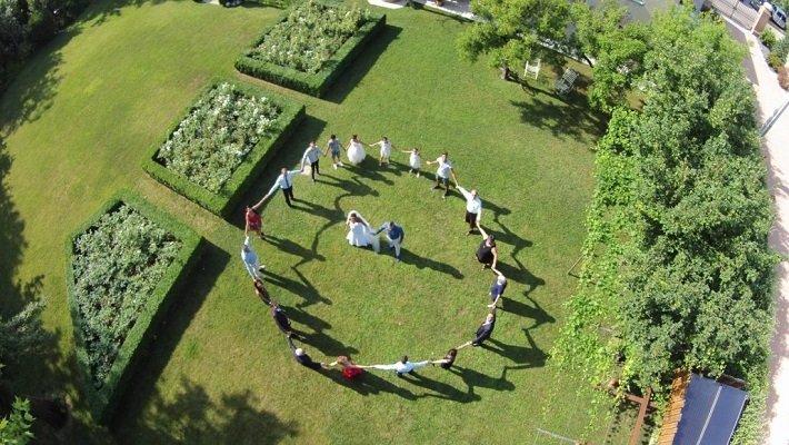 Fotografia matrimoniale scattata da un drone PIGNATARI MATTEO Modena