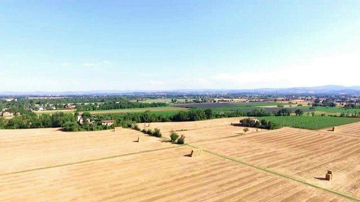 Ripresa aerea a Modena