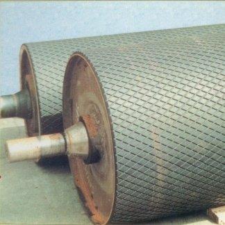 rivestimento in gomma di tamburi motore e rulli