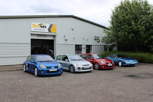 Some Renault cars that were serviced by our team