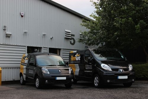 Our Renault service cars