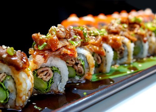 Uramaki Sushi al Ristorante Kisso
