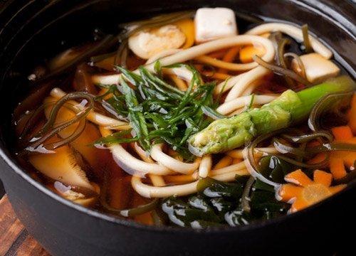 Piatto giapponese con le verdure