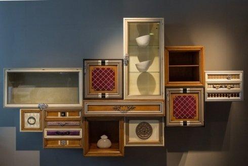 scaffali per salotti, scaffali design, mobili per zona giorno