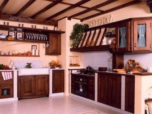 cucine su misura, cucine classiche, cucine in muratura