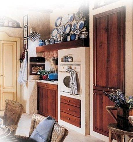 cucine in legno, cucine in vari modelli, cucine con cassettiere
