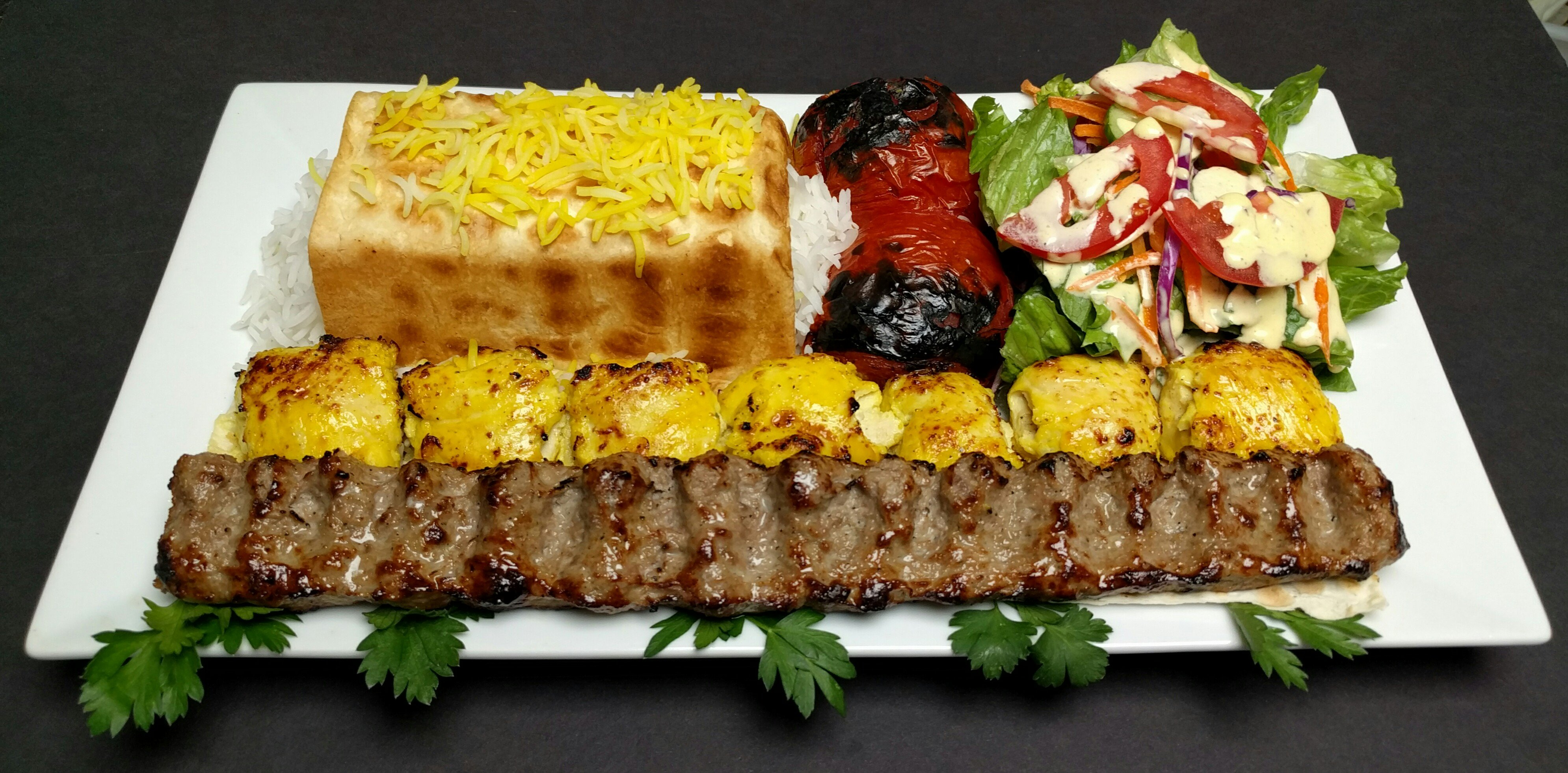 Persian food, Authentic Meditterian, Authentic Italian food for dine-in, pick-up or delivery, Poway, San Diego