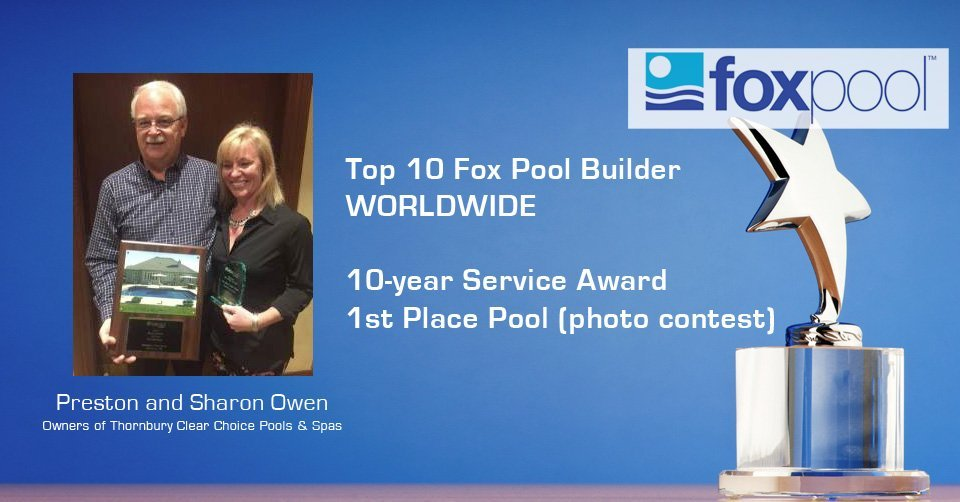 Preston and Sharon Owen - Top 10 Fox Pool Builder Worldwide