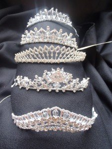Five of our tiaras