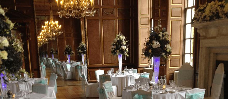 Decorative Glassware For Hire In Lavenham And Norwich