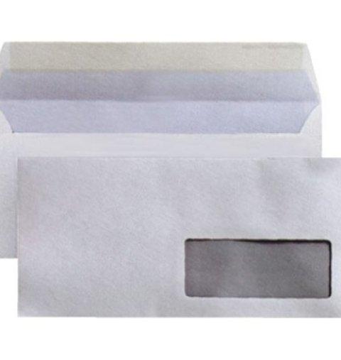 Busta bianca 11x23 c/finestra