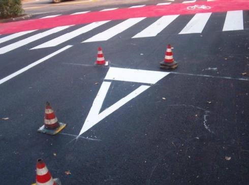 simbolistica stradale, vernici per strade, sistemi di sicurezza stradale