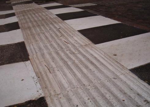 Installation der Straßenbeschilderung, Ampelsysteme, Fahrbahnschwellen zum Ordnen und Bremsen des Verkehrs