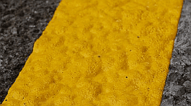 vernici di sicurezza, sicurezza stradale, vernici ad altra durabilità, segnaletica stradale